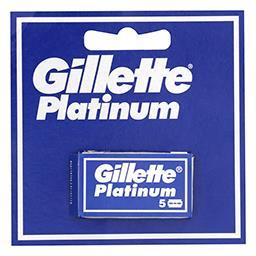 Gillette double edge platinum lame de rasoir pour ho...