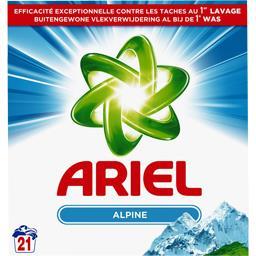 Fraîcheur alpine - lessive en poudre - 21 lavages