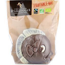 Poisson au chocolat au lait 37% de cacao