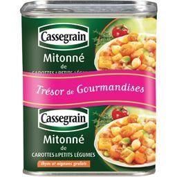 Cassegrain Mitonné de carottes & petit légumes les 2 boites de 375 g