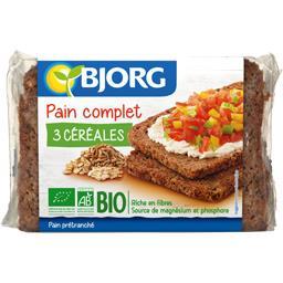 Bjorg Pain complet 3 céréales BIO