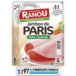 Mon Paris - Jambon découenné dégraissé