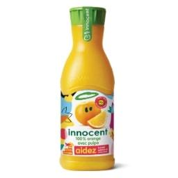 Innocent Pur jus d'orange avec pulpe
