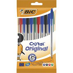 Stylos bille Cristal Original medium 1,0 mm assortis