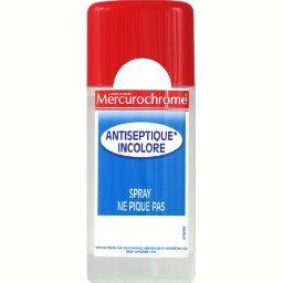 Mercurochrome Mercurochrome Antiseptique incolore sans alcool le spray de 100 ml