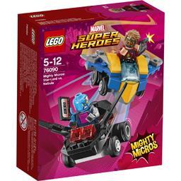 Star-Lord vs Nebula Mighty Micros Marvel Super Heroe...