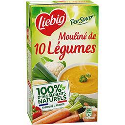 Liebig Liebig Pur'Soup - Mouliné de 10 légumes la brique de 1 l