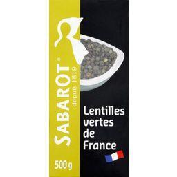 Lentilles vertes de France