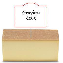 Le Gruyère, doux Suisse 32% de MG