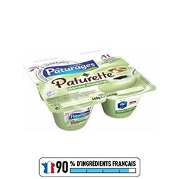 Paturette - Crème dessert saveur pistache