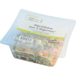 Macédoine aux 5 légumes et sa mayonnaise