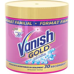Détachant Oxi Action poudre Gold Vanish