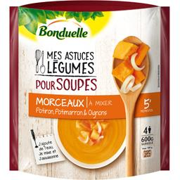 Mes Astuces Légumes - Soupe morceaux potiron & oignons