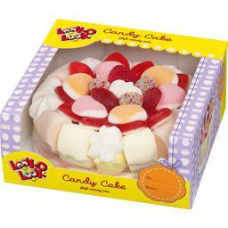 Candy Cake avec boite présentoir