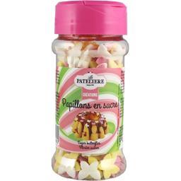 La Patelière Créations - Papillons en sucre le flacon de 45 g