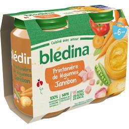 Printanière de légumes jambon, de 6 à 36 mois