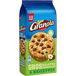 Granola - Biscuits gros éclats de chocolat & noisett...