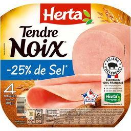 Tendre Noix - Jambon réduit en sel