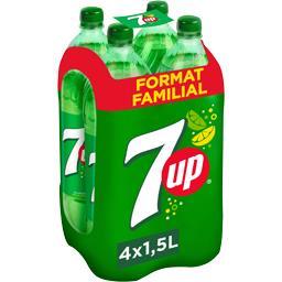 Seven Up Seven Up Soda aux extraits de citron & citron vert les 4 bouteilles de 1,5 l