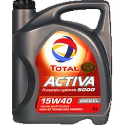 Huile Activa 5000 15W40 Diesel