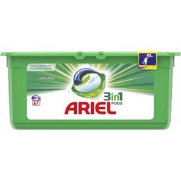 Ariel 3en1 - pods -original - lessive en capsules - 27 lav...