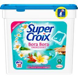Lessive Bora Bora énergisant fleur de Monoï et lait ...