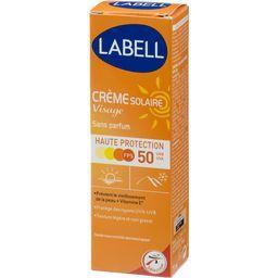 Crème solaire visage haute protection FPS 50 sans pa...