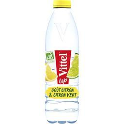 Vittel Vittel Boisson goût citron & citron vert BIO - Up la bouteille de 1 l