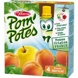 Pom'Potes - Compote pomme abricot