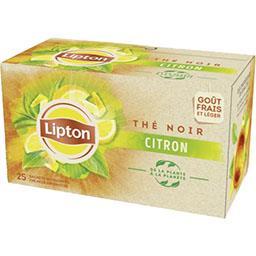 Lipton Lipton Thé citron la boite de 25 sachets - 40 g