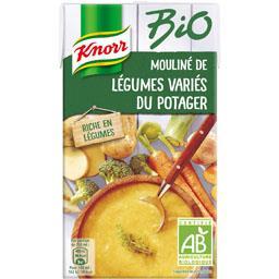 Knorr Knorr Mouliné de légumes variés du potager BIO la brique de 1 l