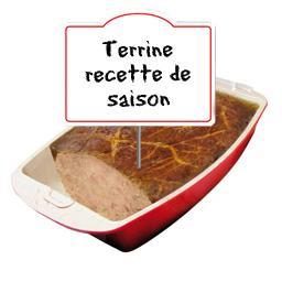 Terrine , recette de saison