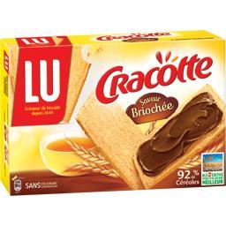 Cracotte, biscottes saveur briochée