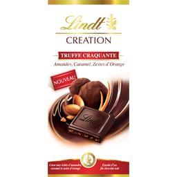 Création - Chocolat truffe craquante amandes, caramel, zestes d'orange