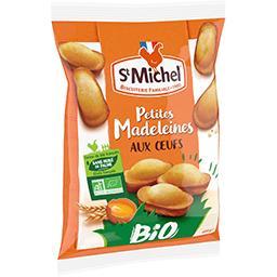 St Michel St Michel Petites madeleines aux œufs BIO le paquet de 400g