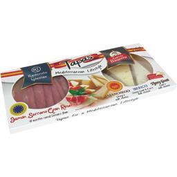 Tapas fromages espagnols et jambon Serrano