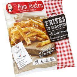 Pom Bistro Frites du Sud-Ouest cuisinées à la graisse de canard