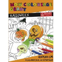 Coloriage géant Halloween 80x120 cm