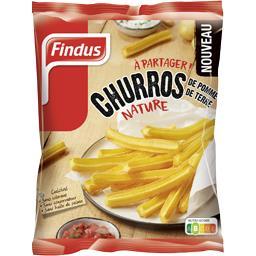 Findus Findus Churros de pommes de terre nature le sachet de 600 g