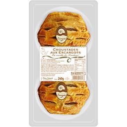 Sélectionné par votre magasin Croustades escargot pâte pur beurre la barquette de 2 - 260 g
