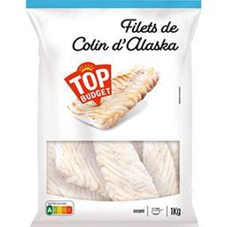 Filets de colin d'Alaska
