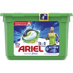 Active odour defense, lessive en capsules