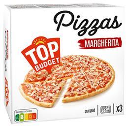 Pizza Margherita tomate/poivron