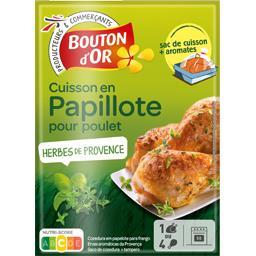 Papillote pour poulet herbes de Provence