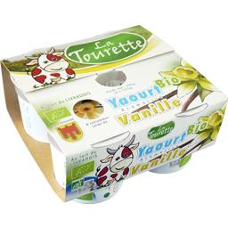 Yaourt BIO aromatisé vanille