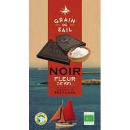 Tablette chocolat noir fleur de sel GRAIN DE SAIL