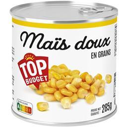 Maïs doux en grains sous vide
