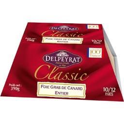 Delpeyrat Foie gras de canard entier Classic la boite de 390 g