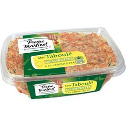 Pierre Martinet Mon Taboulé aux carottes à la ciboulette