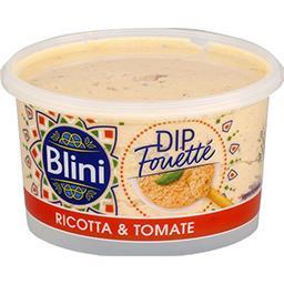 Dip fouetté Ricotta & tomate